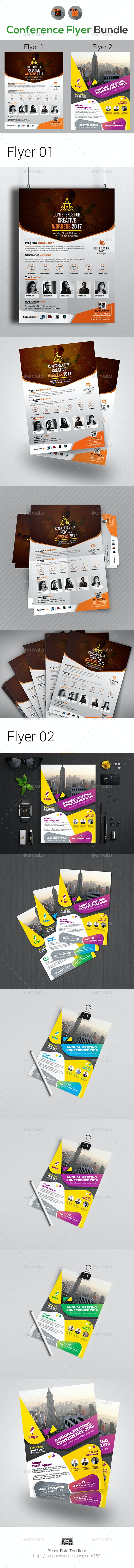 Conference Flyer Bundle - Events Flyers