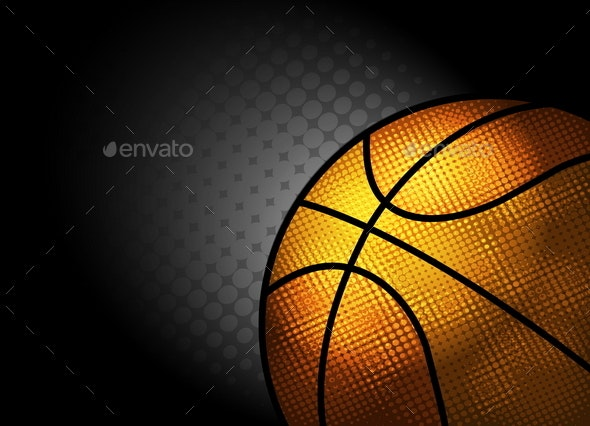 Basketball Background - Sports/Activity Conceptual