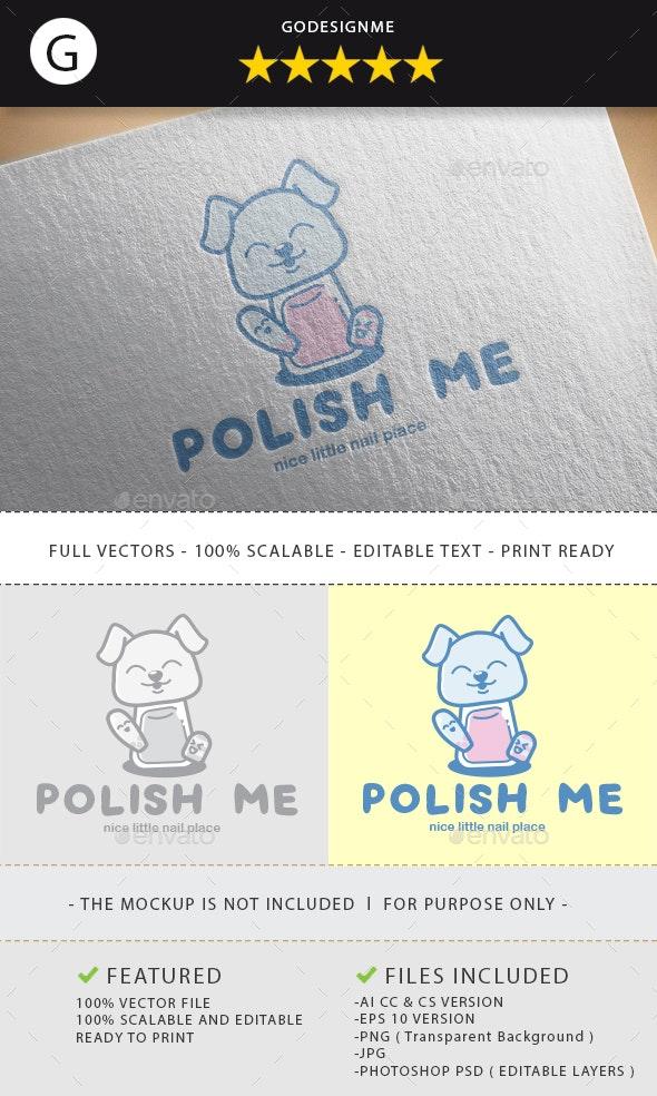 Polish Me Logo Design - Vector Abstract