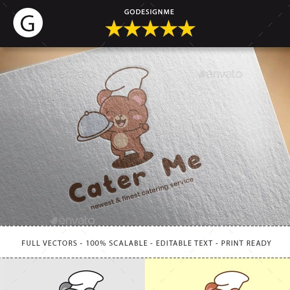 Cater Me Logo Design