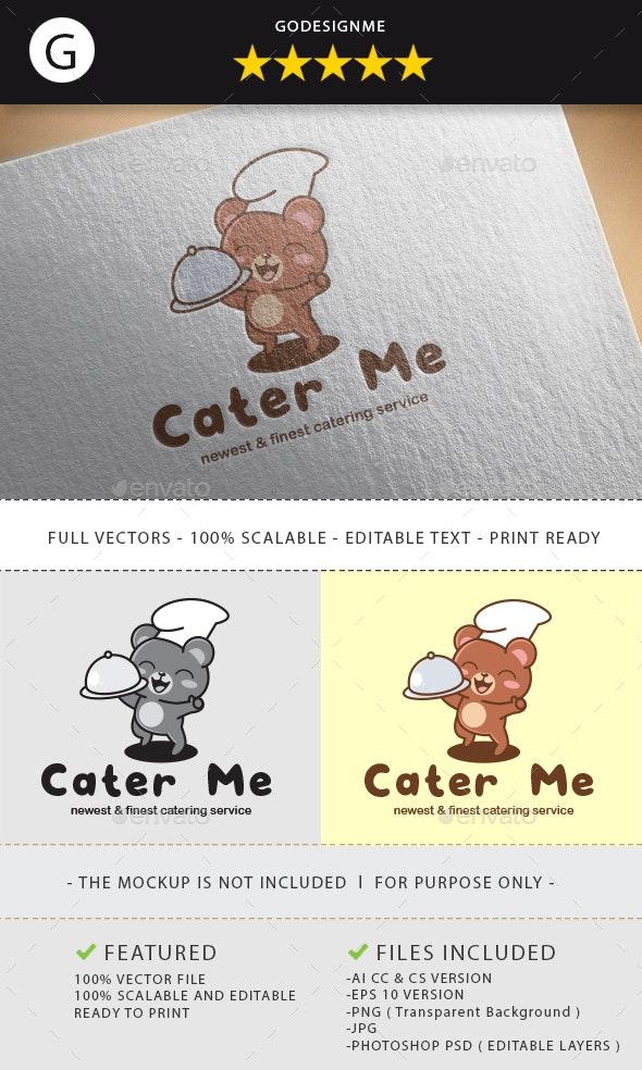 Cater Me Logo Design - Vector Abstract
