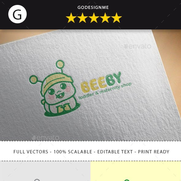 Beeby Logo Design