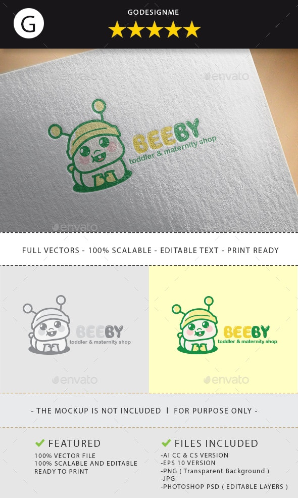 Beeby Logo Design - Vector Abstract