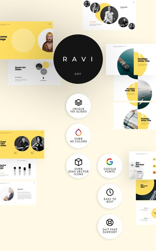 Ravi Minimal Powerpoint - Business PowerPoint Templates