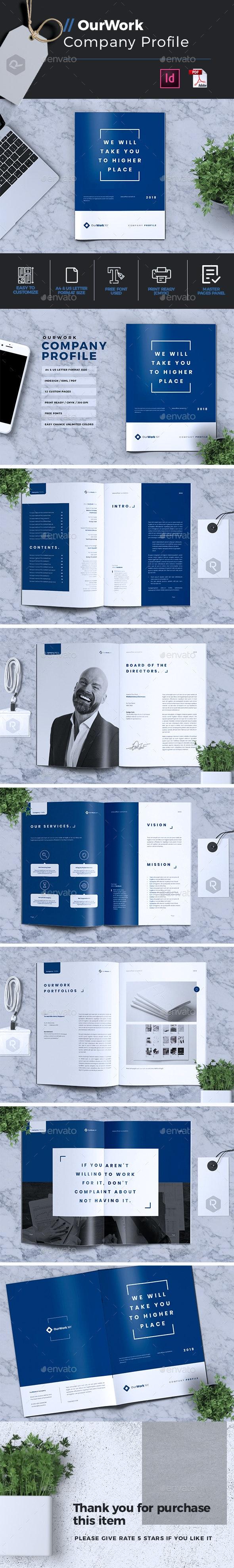 OurWork | Company Profile - Corporate Brochures