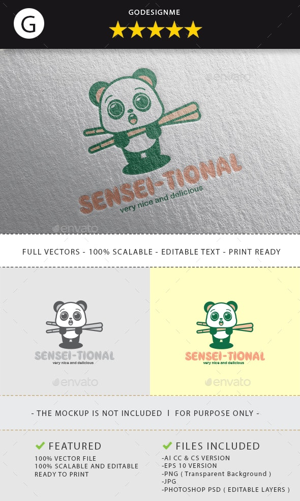 Sensei-Tional Logo Design - Vector Abstract