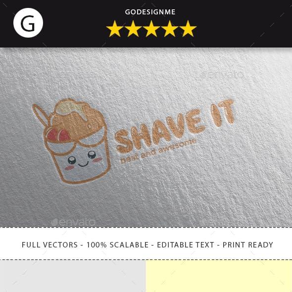 Shave It Logo Design