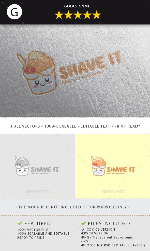 Shave It Logo Design - Vector Abstract