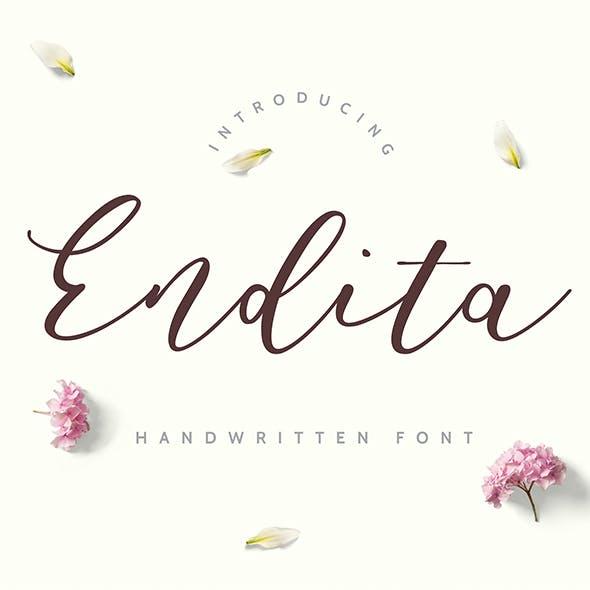 Endita - Handwritten Font