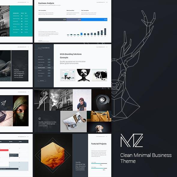 Miza - Business Clean Template (Google Slide)
