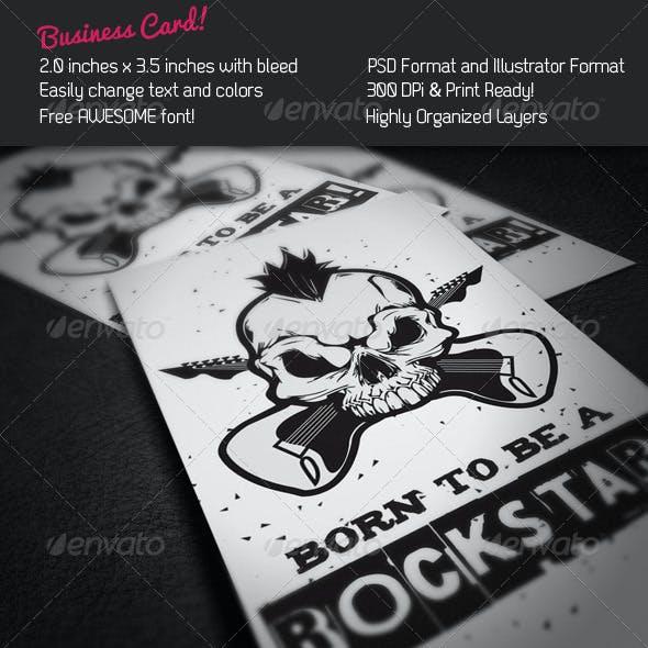 Rockstar Business Card