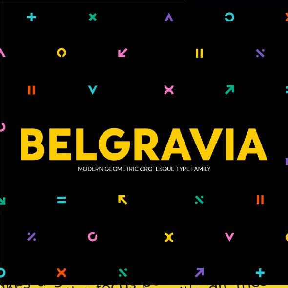 Belgravia Sans Serif Font