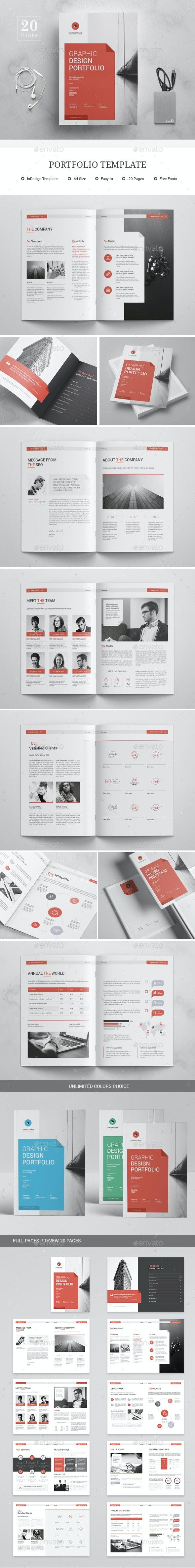 PortfoLio Template - Corporate Brochures
