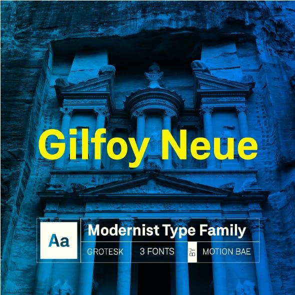 Gilfoy Neue Font