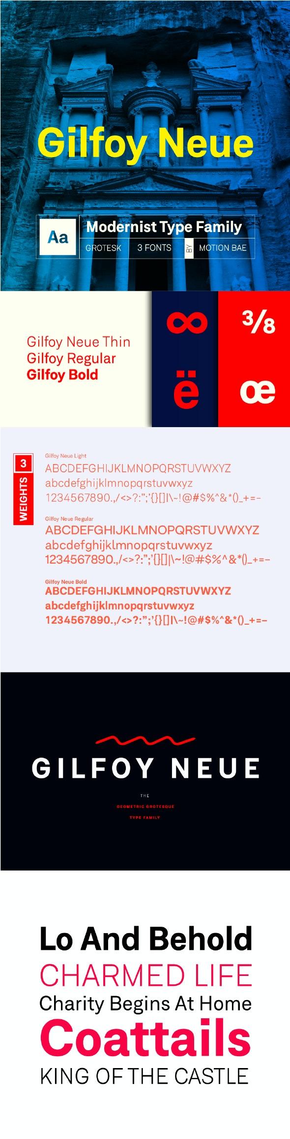 Gilfoy Neue Font - Miscellaneous Sans-Serif