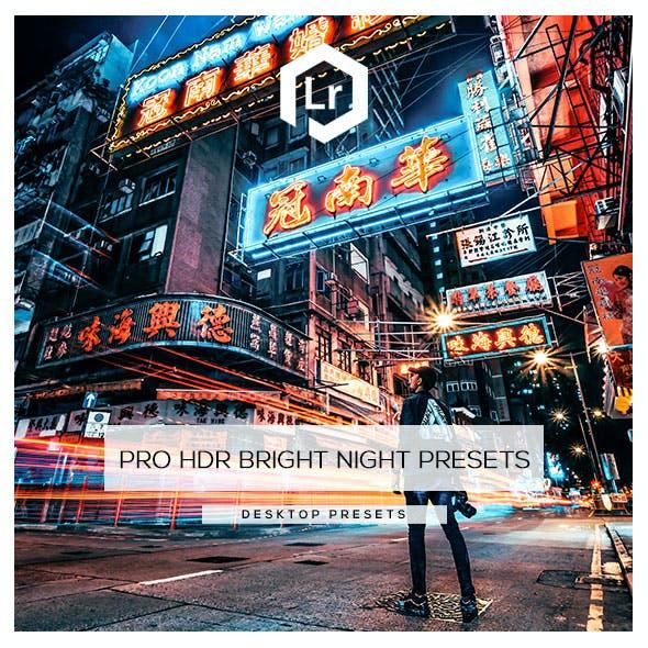 30 Pro HDR Bright Night Presets