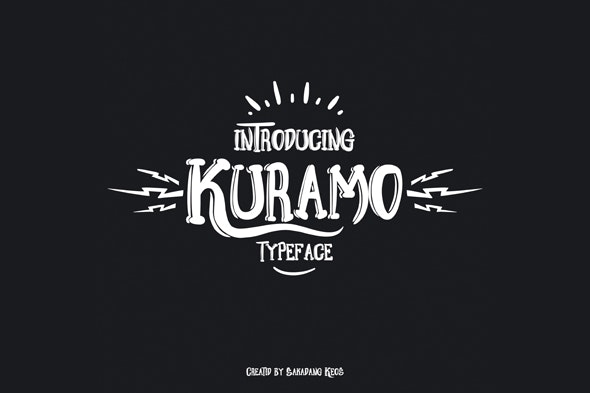 Kuramo Font - Decorative Fonts