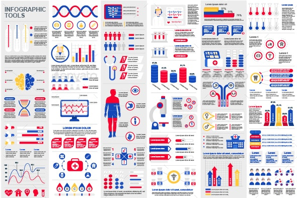 Medical Infographic Elements - Infographics