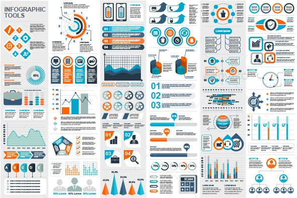 Business Infographic Elements - Infographics