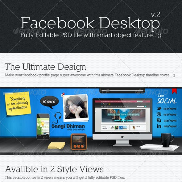 Facebook Desktop V2