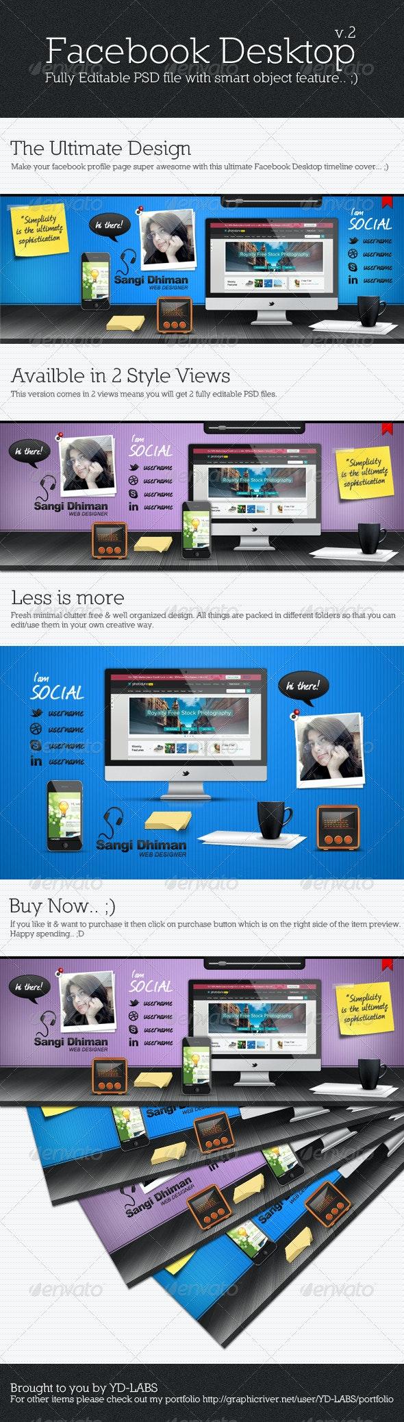 Facebook Desktop V2