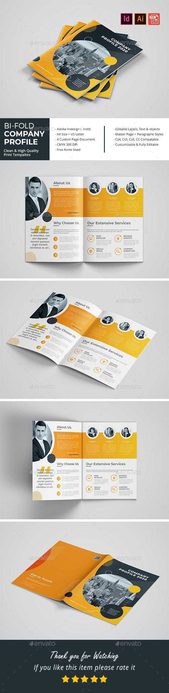 Bifold Company Profile 2020 - Corporate Brochures