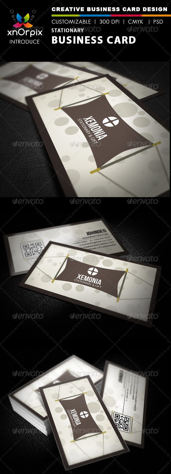 Stationary Business Card - Business Cards Print Templates
