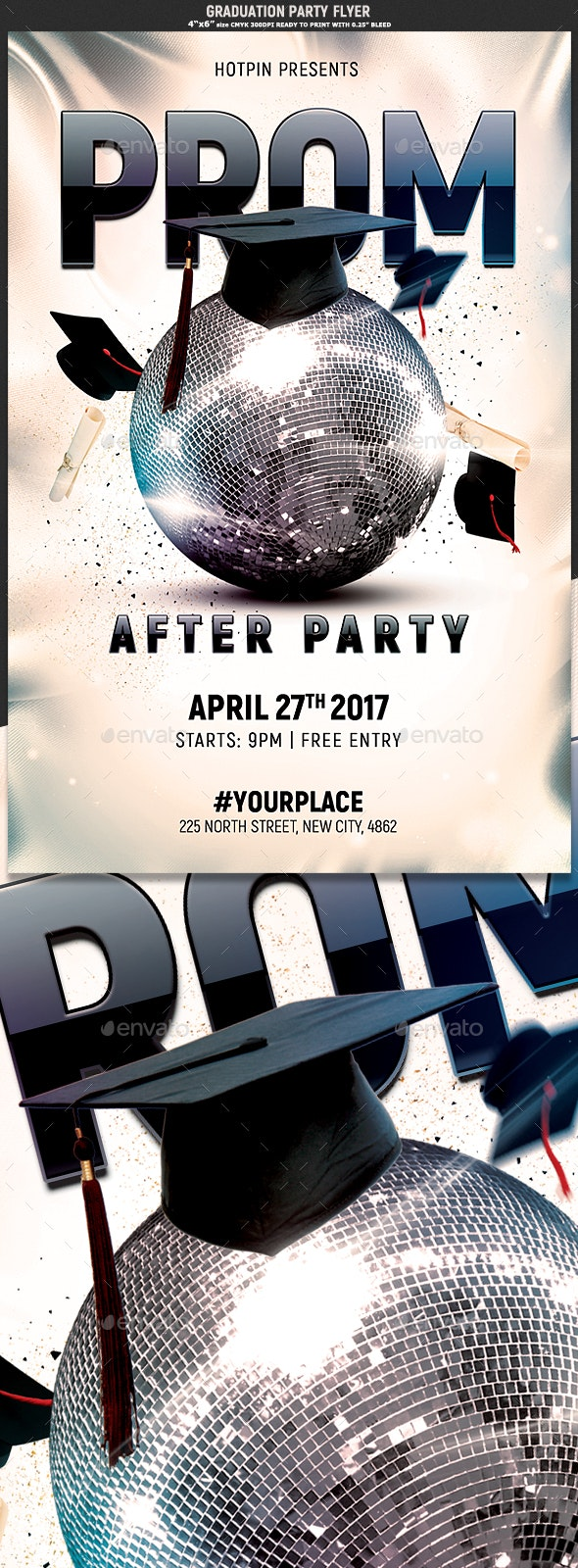 Prom Party Flyer Template - Events Flyers