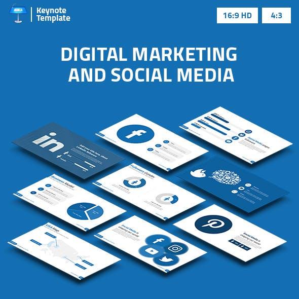 Digital Marketing and Social Media 2 Keynote Presentation Template