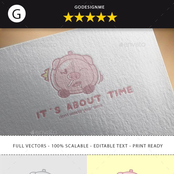 Its About Time Logo Design