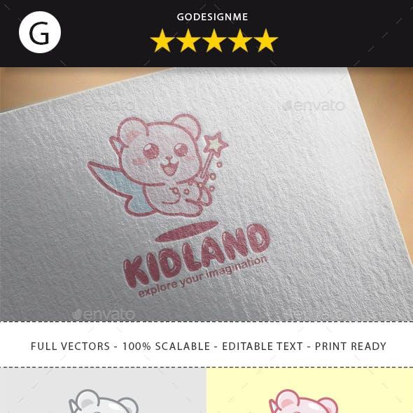 Kidland Logo Design
