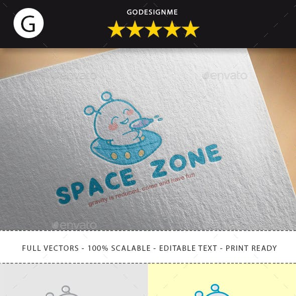 Space Zone Logo Design