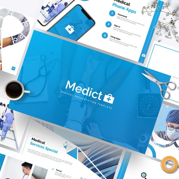 Medict+ Medical Powerpoint Template