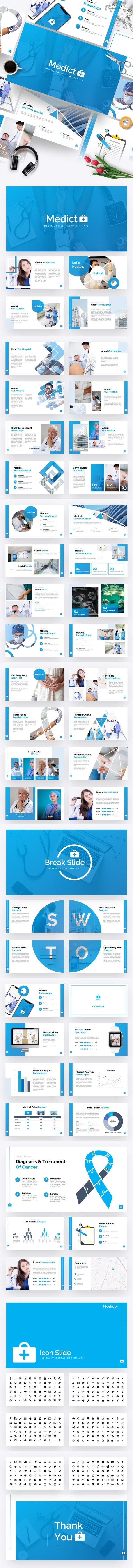 Medict+ Medical Powerpoint Template - Business PowerPoint Templates