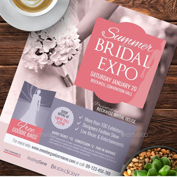 Bridal Expo or Show Flyer Templates