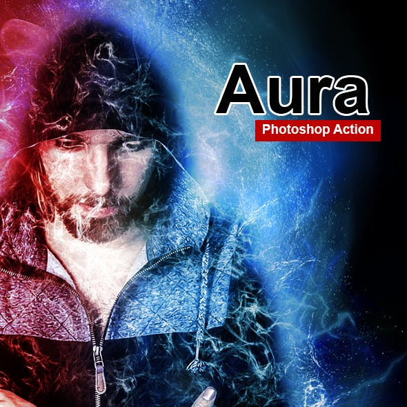 Amazing Aura Photoshop Action Vol 1