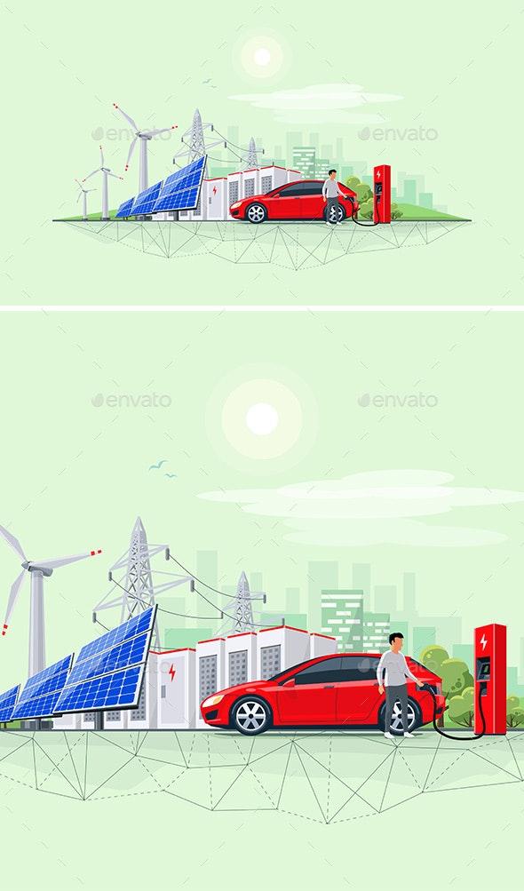 Renewable Energy Battery Storage - Industries Business