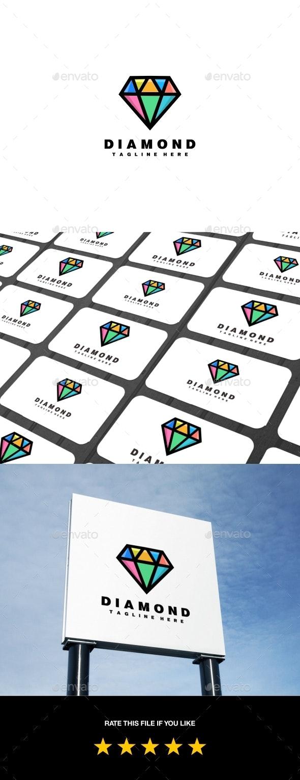 Diamond Logo - Logo Templates