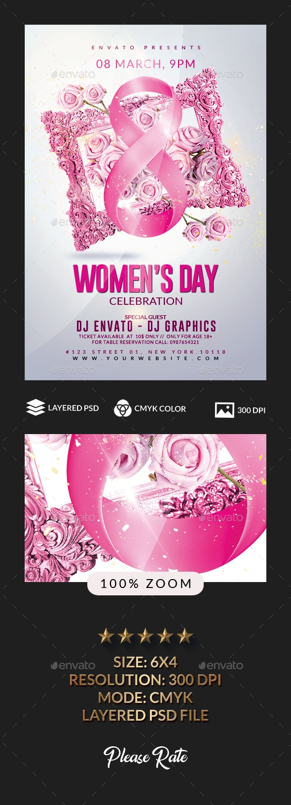 Women Day - Clubs & Parties Events