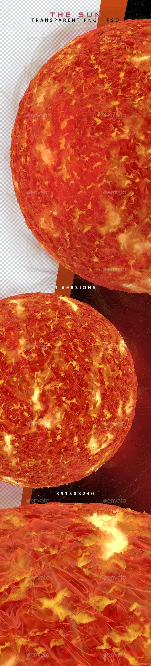 The Sun 3D Renders - Objects 3D Renders