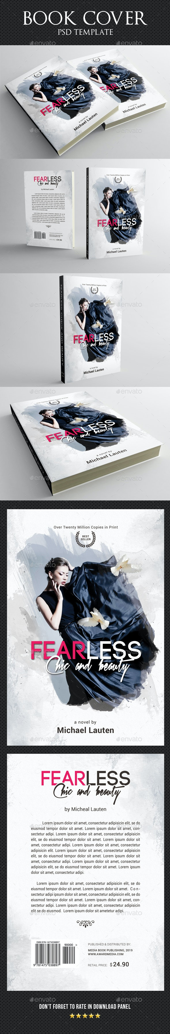 Book Cover Template 59 - Miscellaneous Print Templates