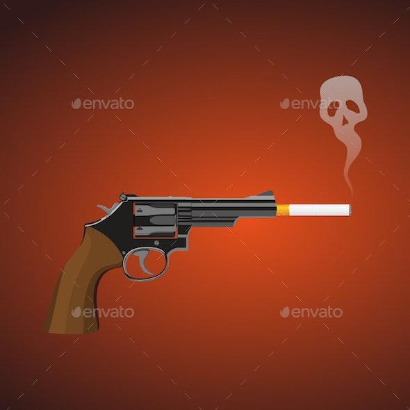 Smoking Kills - Health/Medicine Conceptual