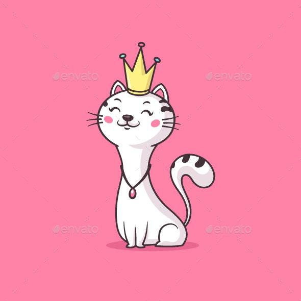 Cat Queen - Animals Characters