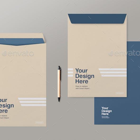 C4 Envelopes Mockup