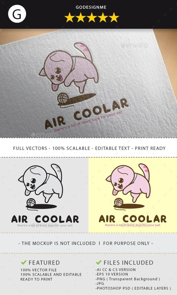 Air Coolar Logo Design - Vector Abstract