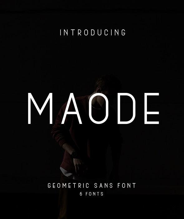 Maode - Sans-Serif Fonts