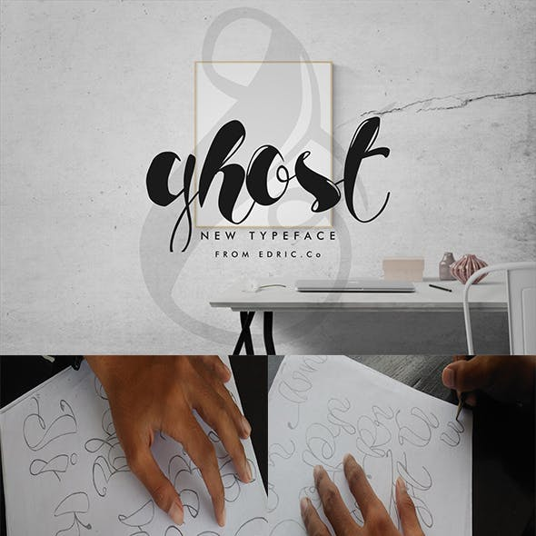 Ghost Script Calligraphy Duo