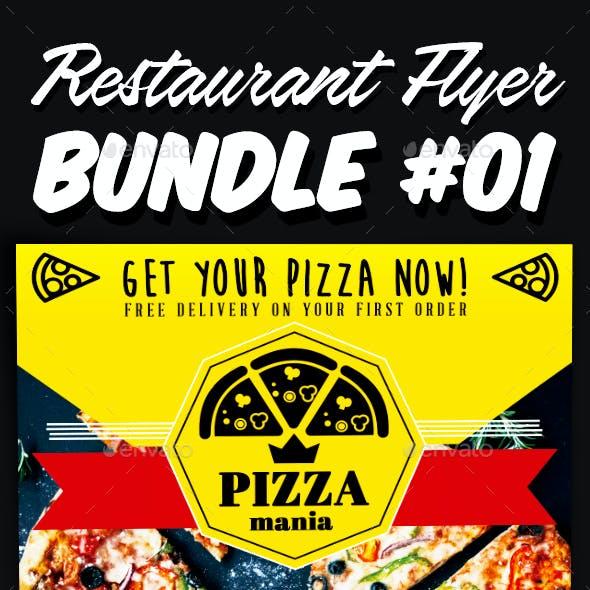Restaurant Flyer Bundle 01