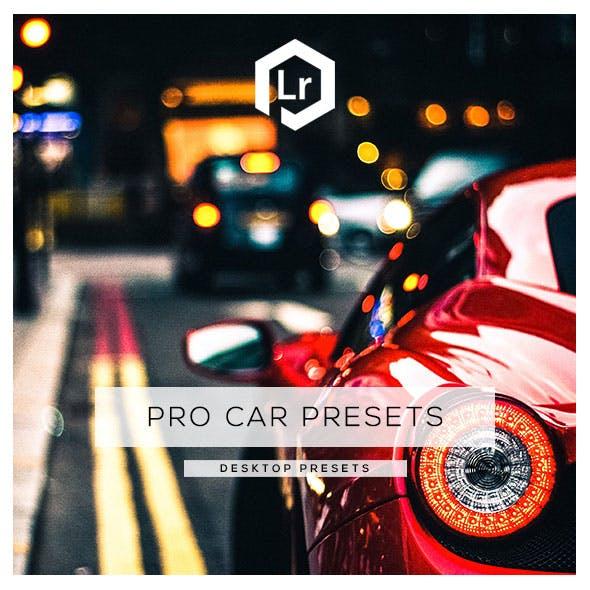 15 Pro Car Lightroom Presets