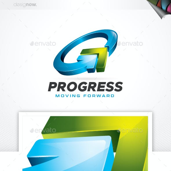 Progress Arrow Logo